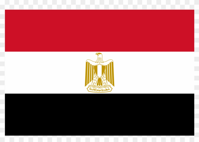Egypt Flag Icon, HD Png Download.