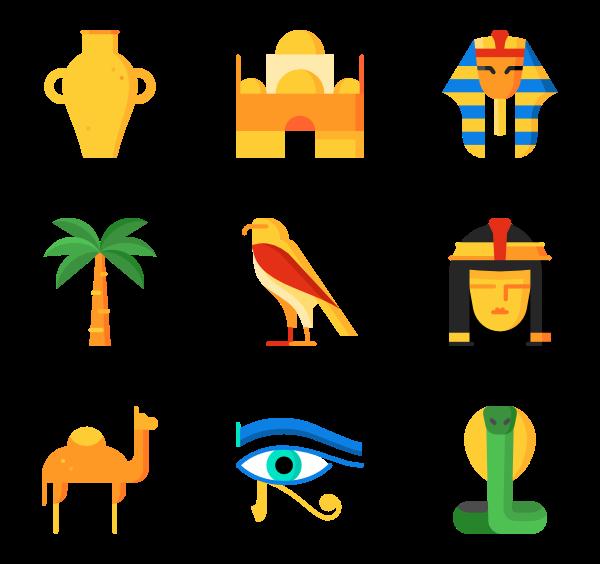 69 egypt icon packs.