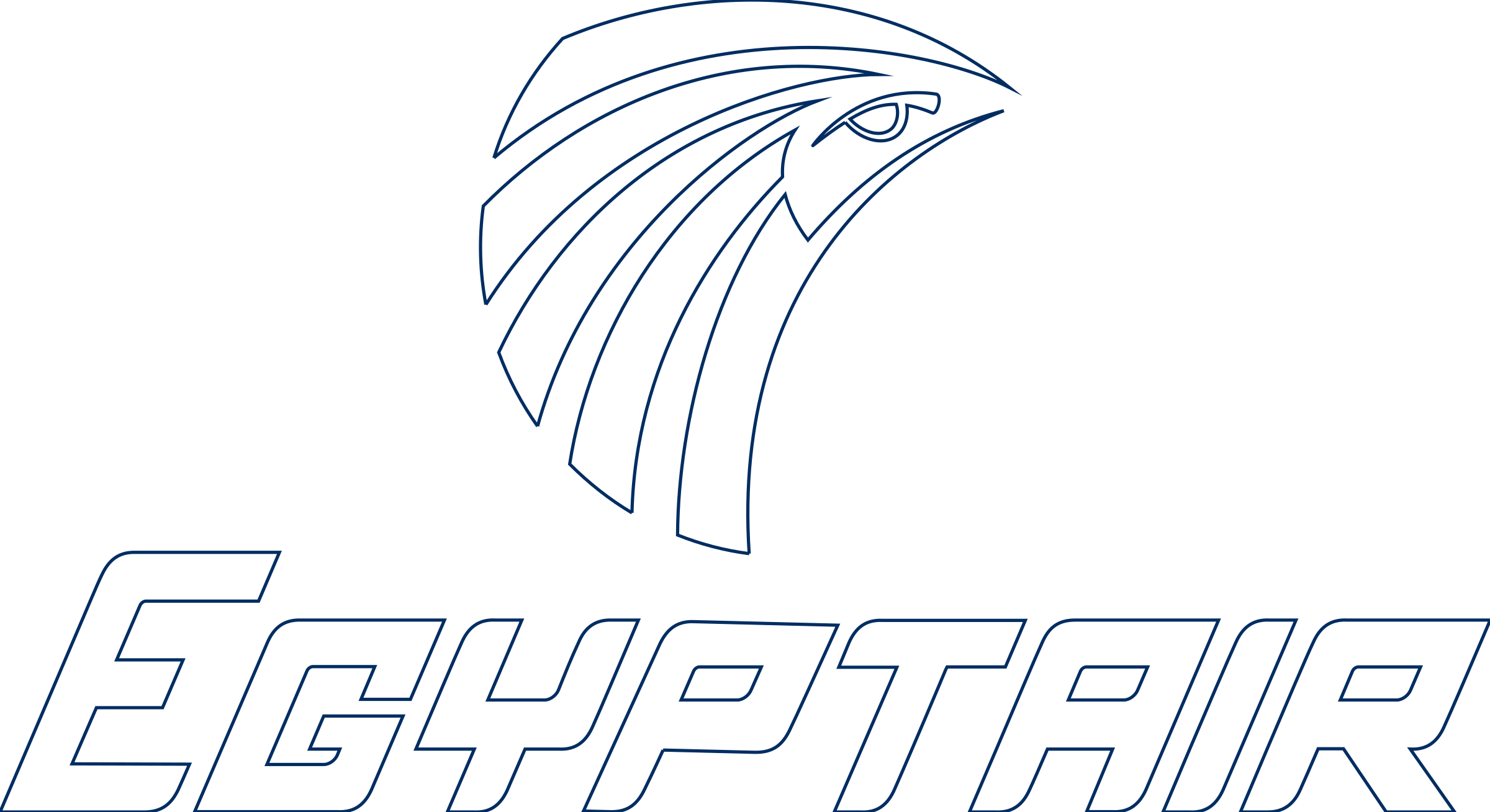Egypt Air Logo PNG Transparent & SVG Vector.