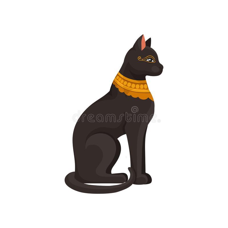 Egyptian Cat Stock Illustrations.