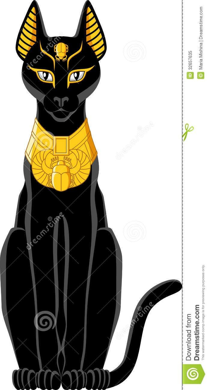 In Egyptian Cat Clipart.