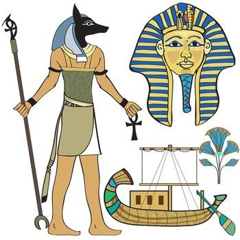Ancient Egypt Clip Art.