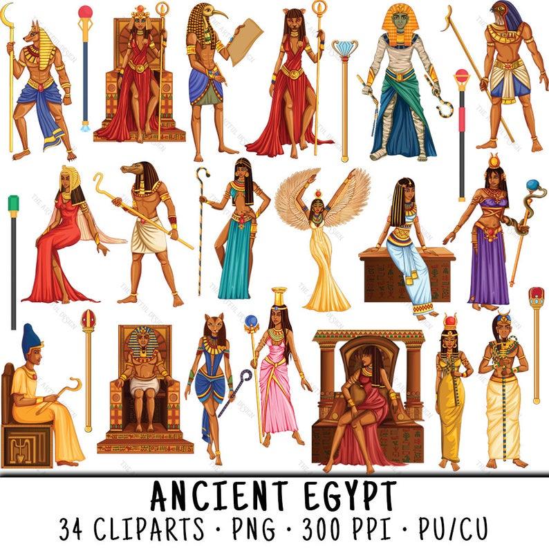 Egyptian Clipart, Cleopatra Clipart, Egyptian Clip Art, Cleopatra Clip Art,  Clipart Egyptian, Clip Art Egyptian, Egyptian Figure.