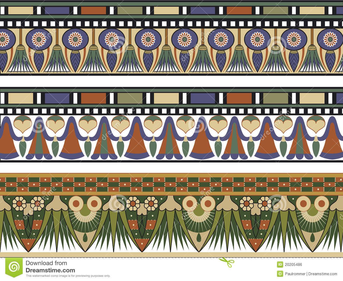 Border Egyptian Stock Illustrations.