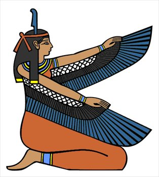 Egyptian Borders Clipart.
