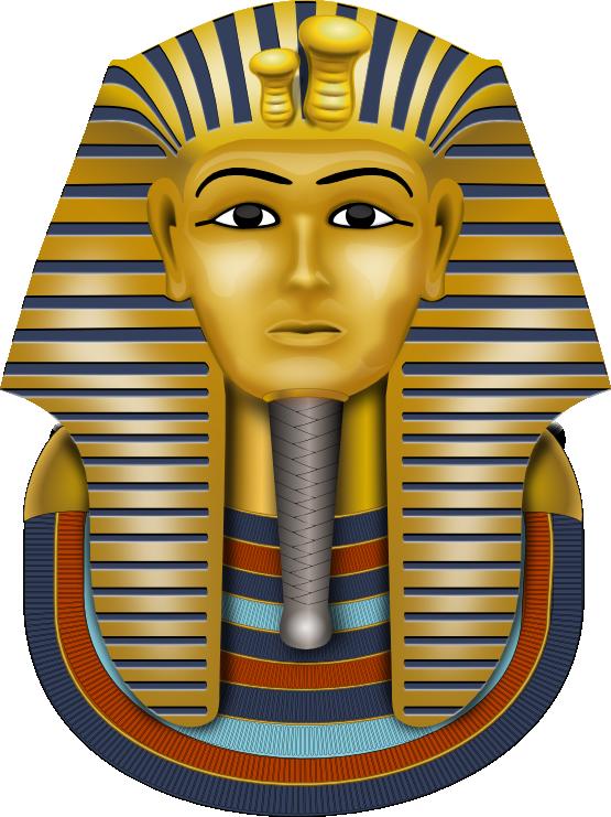 King pharaoh in egypt clipart.