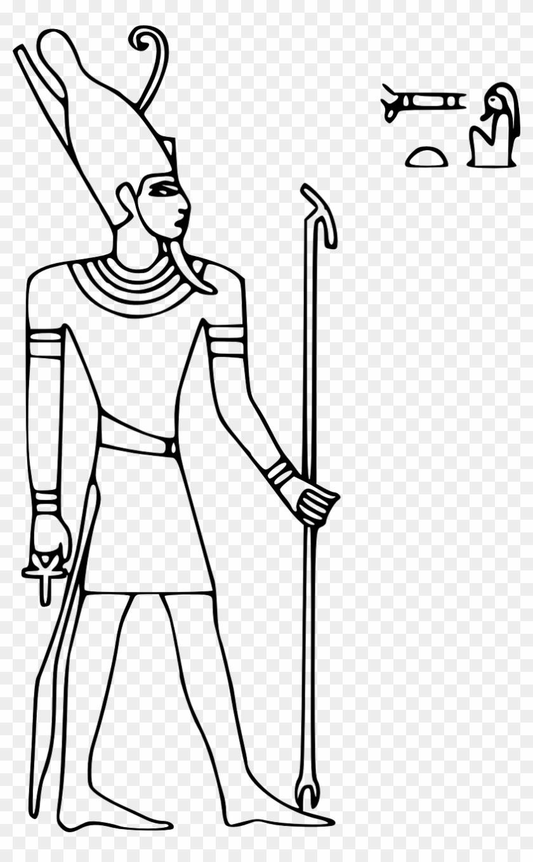 Egypt clipart black and white, Egypt black and white.