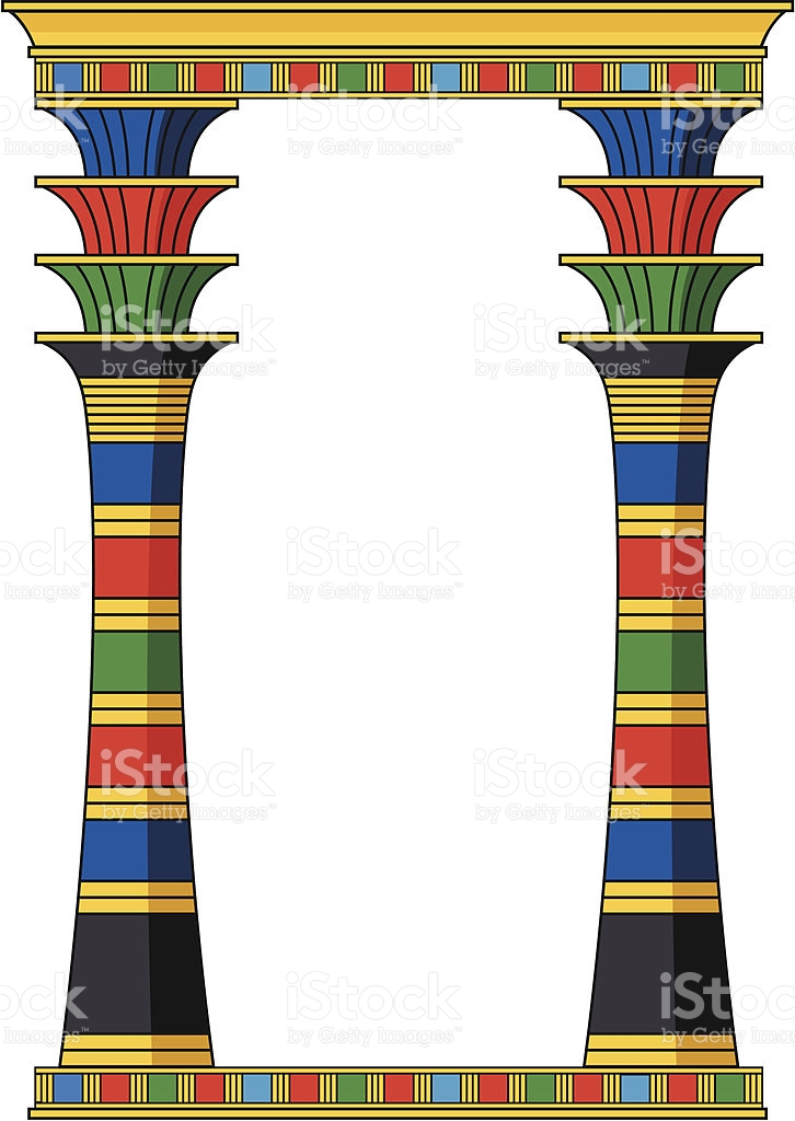 Egyptian Clip Art Borders for Free.