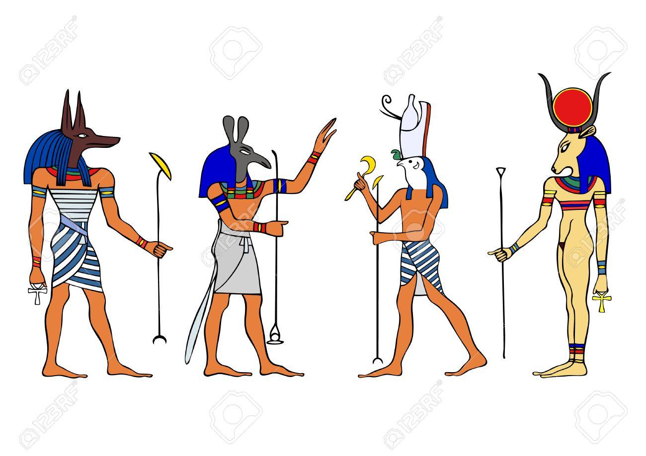 Egyptian Gods and Goddess.