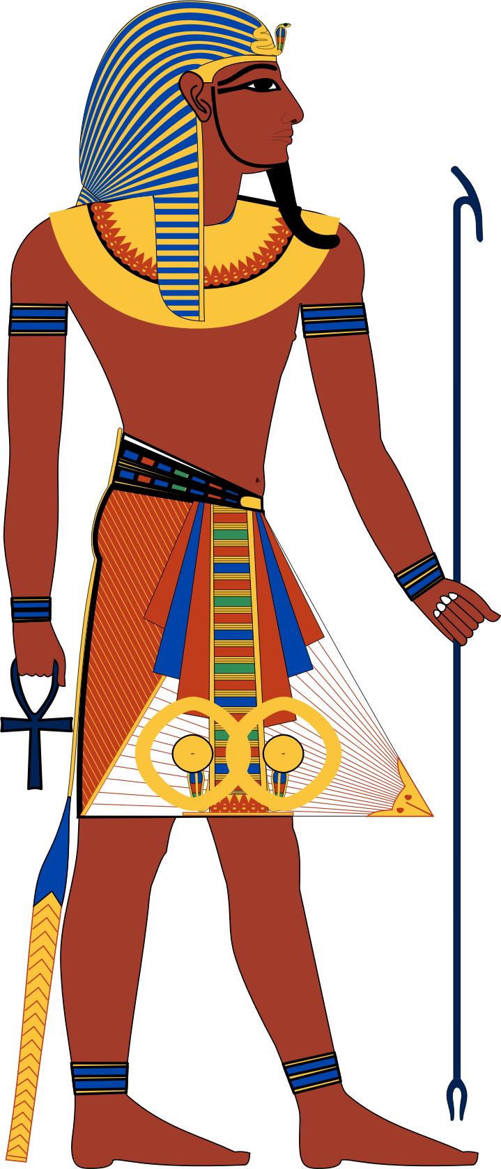 Egyptian Person Clipart.