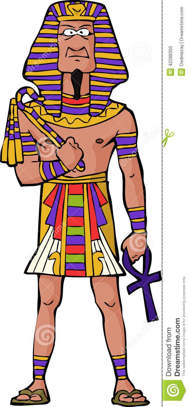 Egyptian King Clipart.