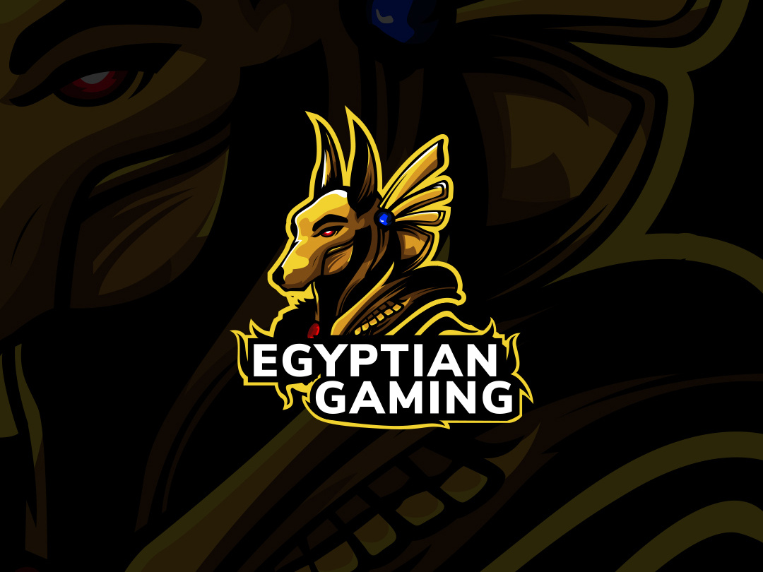 Egyptian Gaming Logo by Lazar Stanisic on Dribbble.