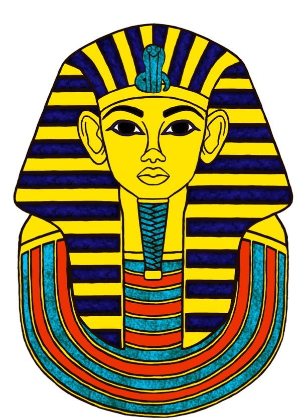 Egyptian Mummy Clipart.