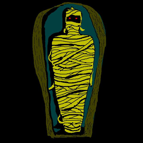 Egyptian Mummy Clipart.