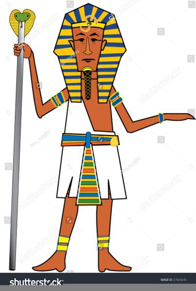 Egypt Pharaoh Clipart.