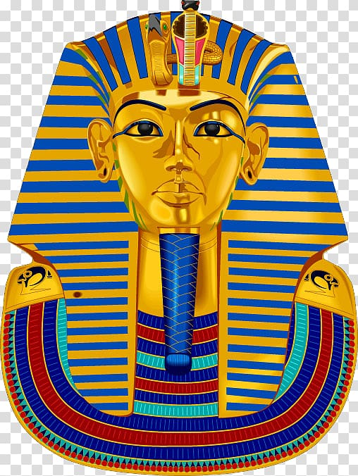 Egyptian pharaoh transparent background PNG clipart.