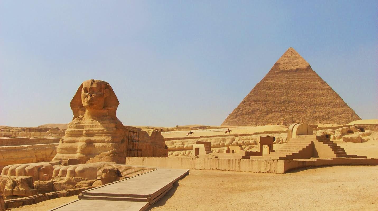 Pyramids Of Giza Clipart.