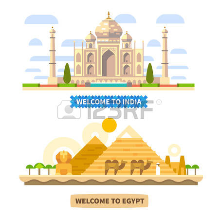 4,185 Egypt Pyramid Stock Vector Illustration And Royalty Free.