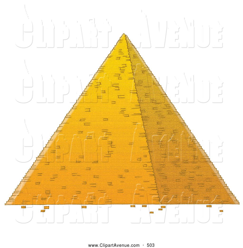 Egypt Pyramid Clipart.