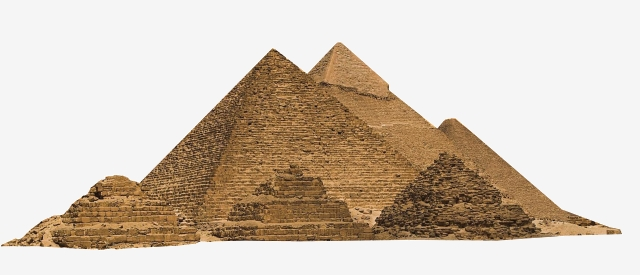 Egyptian Pyramids, Ancient Egypt, Mountain Heap, Pyramid PNG.
