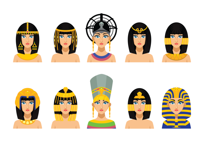 Cleopatra Egyptian Queen.