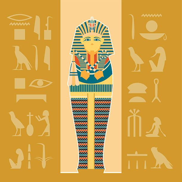 Best Egyptian Sarcophagus Illustrations, Royalty.
