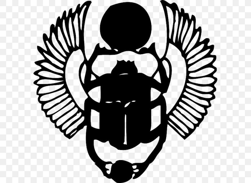 Scarab Beetle Ancient Egypt Clip Art, PNG, 601x599px, Scarab.