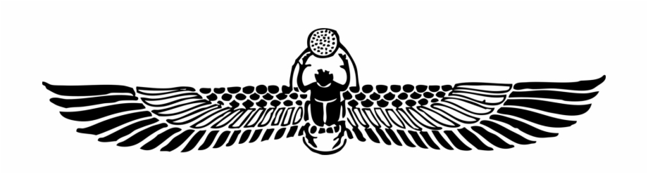 Ancient Beetle Symbol Egyptian Scarab Beetle Tattoo.