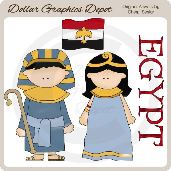 Egypt Food Clipart.