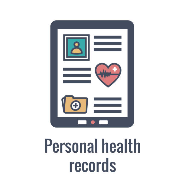 Best Electronic Health Record Illustrations, Royalty.