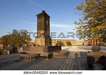 """Stock Photo of """"Ehrenbreitstein Fortress, UNESCO World Heritage."""
