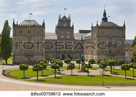 "Stock Photo of ""Schloss Ehrenburg Palace, Coburg, Upper Franconia."