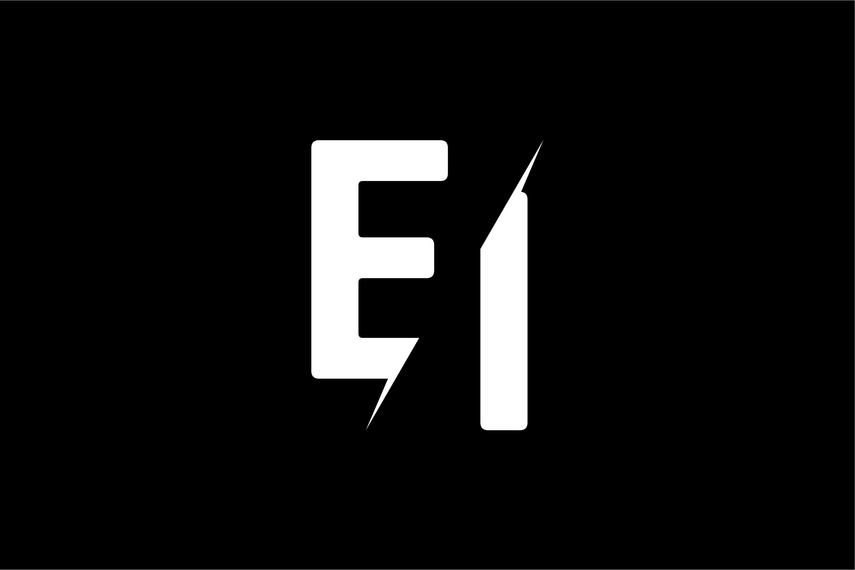 Monogram EI Logo.