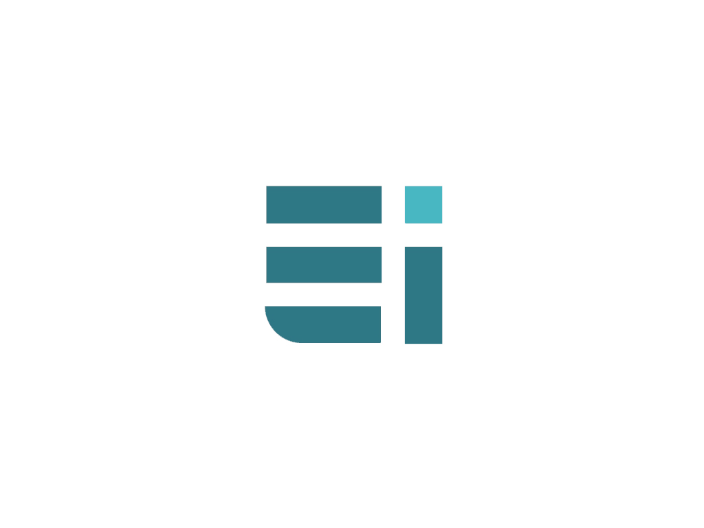 Modern, Bold Logo Design for Ethical Image ( or just E / EI.