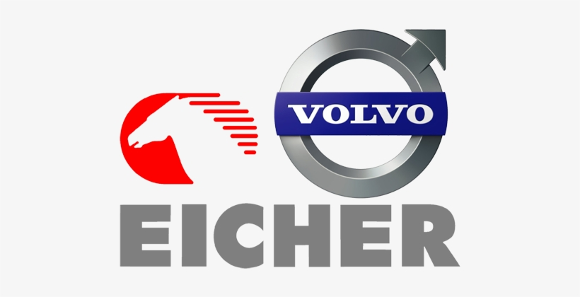 Volvo Eicher Logo Png PNG Image.