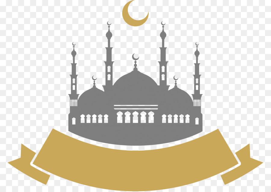 Eid Mubarak Silhouette png download.