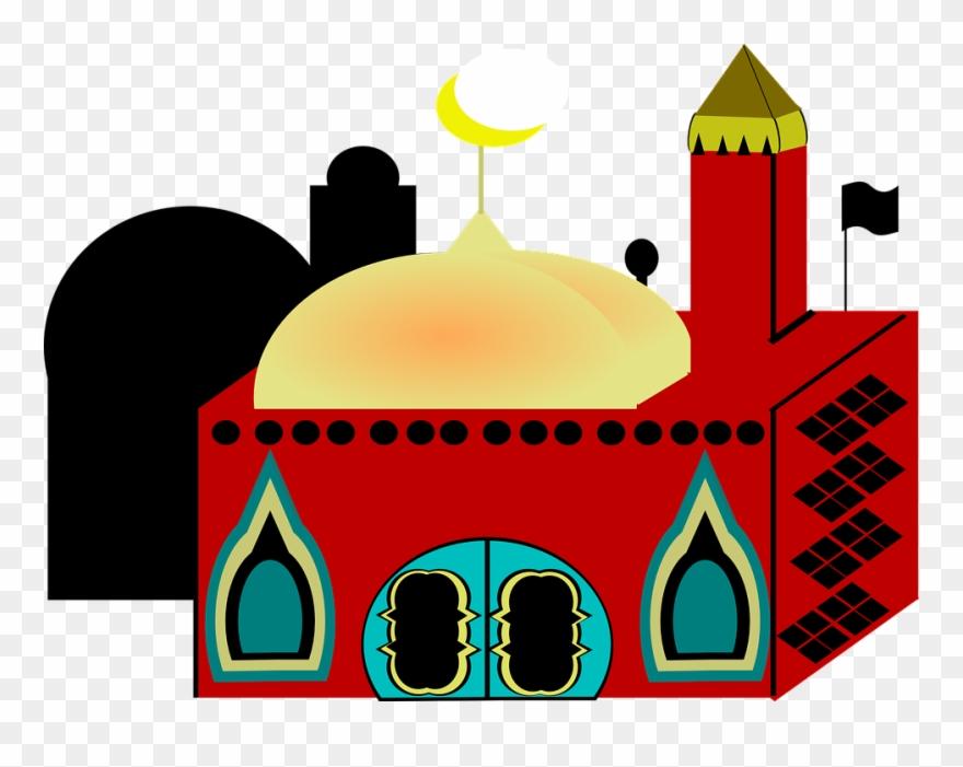 Mosque Clipart Masid.
