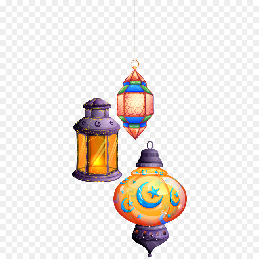 Eid Mubarak Lantern png download.