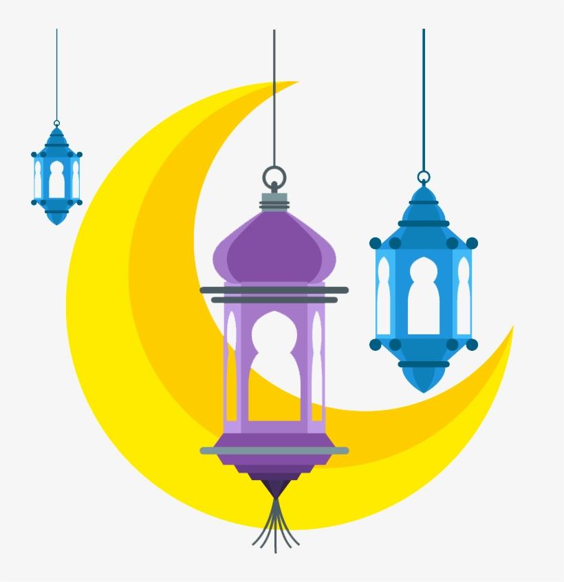Ramadan Lamps Png Images.