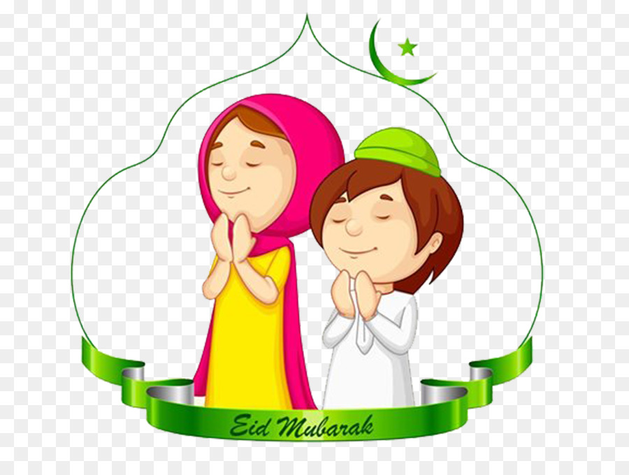 Eid Mubarak Green.