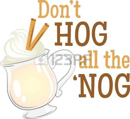 Eggnog Stock Vector Illustration And Royalty Free Eggnog Clipart.
