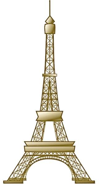 Eifel tower clipart.