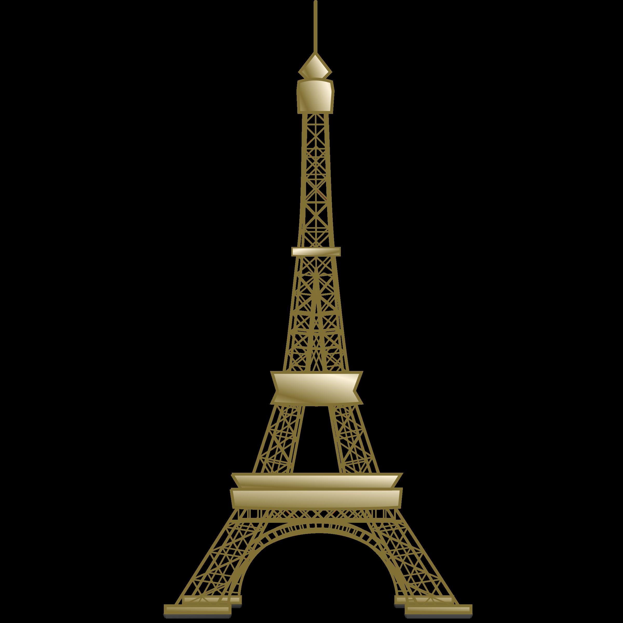 Eiffel tower clipart image clip art the eiffel.