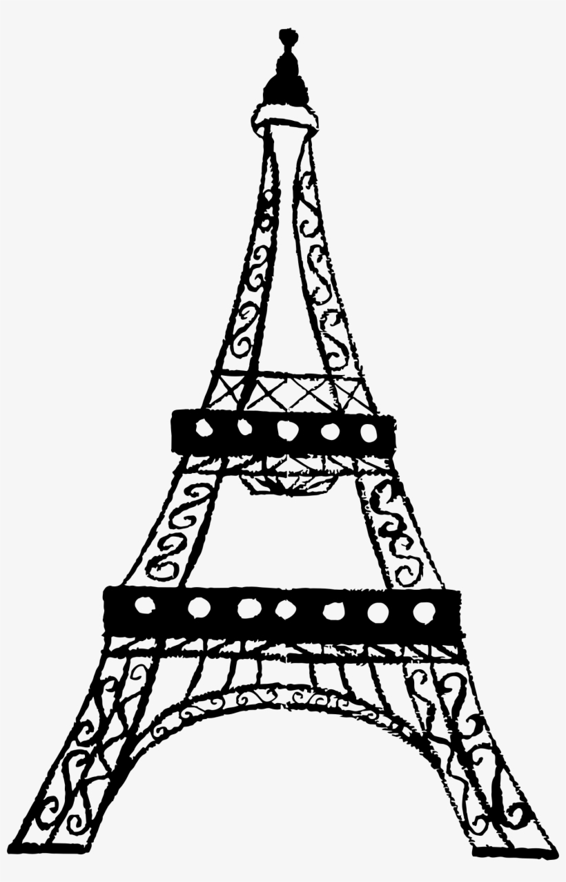 Free Eiffel Tower Png Transparent.