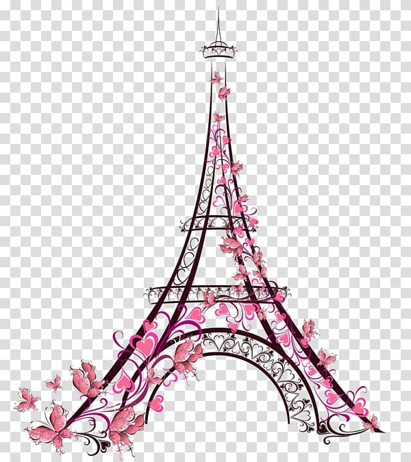 Eiffel Tower Paris illustration, Eiffel Tower Drawing Galata.