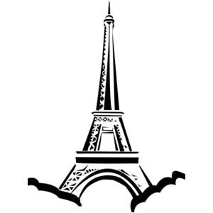 Eiffel Tower clip art.