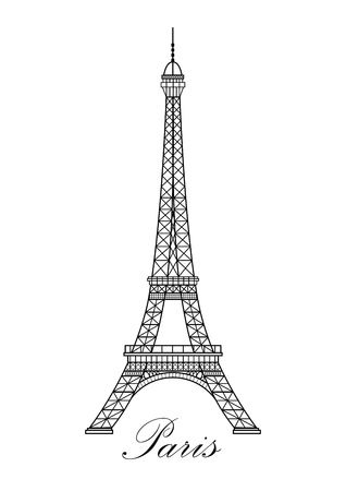 1,191 Eiffel Tower Black And White Cliparts, Stock Vector And.