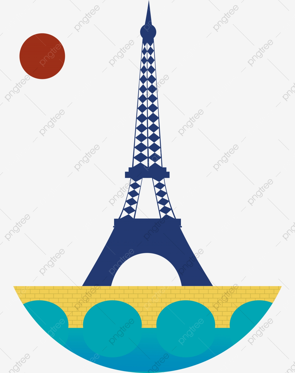Eiffel Tower Cartoon, Cartoon Clipart, Tower, Eiffel PNG Transparent.