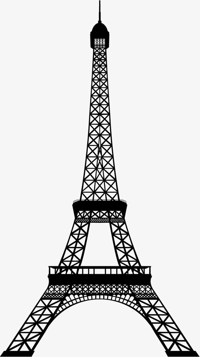 Eiffel tower clipart png 1 » Clipart Portal.