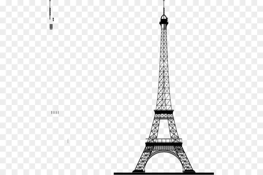 Eiffel Tower Drawing png download.